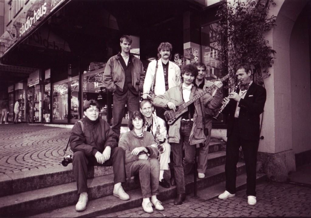 Breitling Stompers in Kiel am 12.November 1989 (Foto: Breitling Stompers)